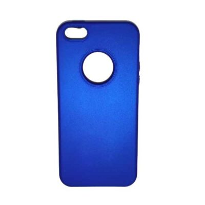ΘΗΚΗ IPHONE 5 BACK COVER BLUE