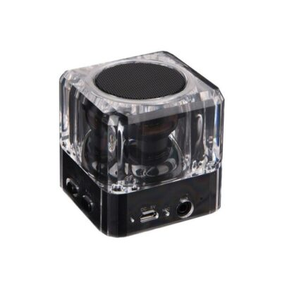 Bluetooth Speaker PT-404 Portable 3W Led Light Black
