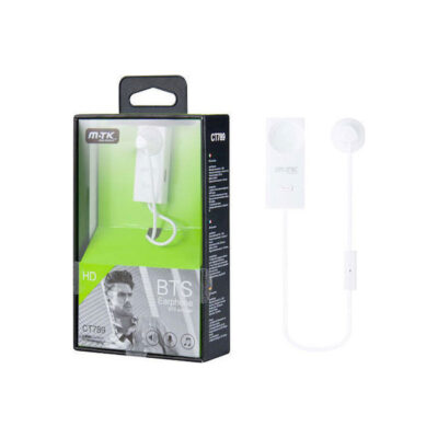 Moveteck CT789 Earbud Bluetooth Handsfree Λευκό