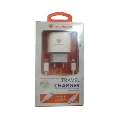 Φορτιστής travel charger TN-F-014 type C- Lighting